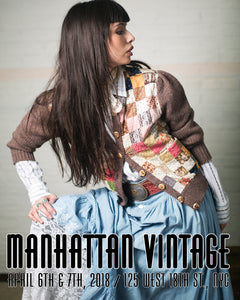 2018 Manhattan Vintage Clothing Show & Sale --- Here We Come!