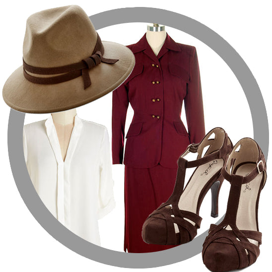 Stealing Agent Carter's Style (Plus a Sale Code)