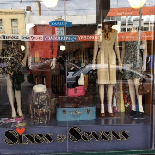 Sixes And Sevens Vintage Store Front