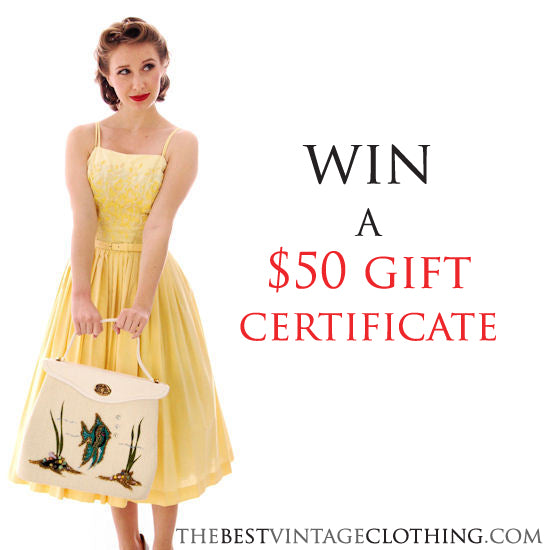 Win a $50 Gift Certificate