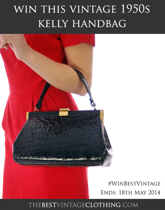 Win a vintage 1950s Kelly handbag