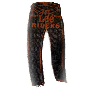 Vintage Lee Riders Denim Jeans Patch Rare - The Best Vintage Clothing
