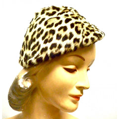 Vintage Genuine Fur Hat Skullcap Style 1940s Needs To Be Finished - The Best Vintage Clothing  - 1