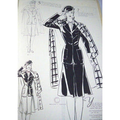 Vintage Fashion Book How To Draw The Female Figure 1940s - The Best Vintage Clothing  - 4
