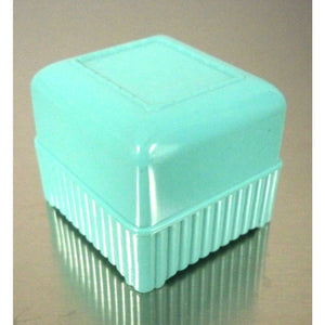Vintage Celluloid Ring Box 1950s True Aqua - The Best Vintage Clothing  - 1