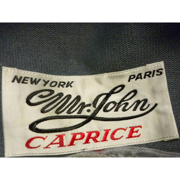 Vintage Ladies Cocktail Hat  Silver Berries w/Tulle Mr. John Caprice 1950s - The Best Vintage Clothing  - 3