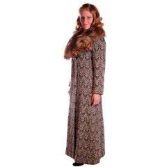 "Vintage Donald Brooks Tweed Maxi Skirt Suit 1970S 28""W - The Best Vintage Clothing  - 4"