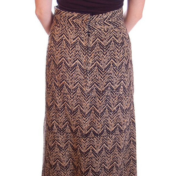 "Vintage Donald Brooks Tweed Maxi Skirt Suit 1970S 28""W - The Best Vintage Clothing  - 9"