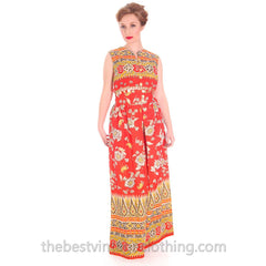 Vintage Gypsy Belly Dance Outfit Palazzo Pants + Coin Embellished Midi Top S 1960s - The Best Vintage Clothing  - 2
