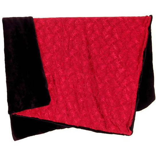 New Reversible Designer Throw by Film Costume Designer  Molly Maginnis #2 Black/Red - The Best Vintage Clothing  - 2