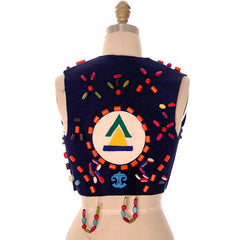 Vintage Campfire Girls Vest w/ Loads of Beads, Extra Beads & Cap 1960s - The Best Vintage Clothing  - 3