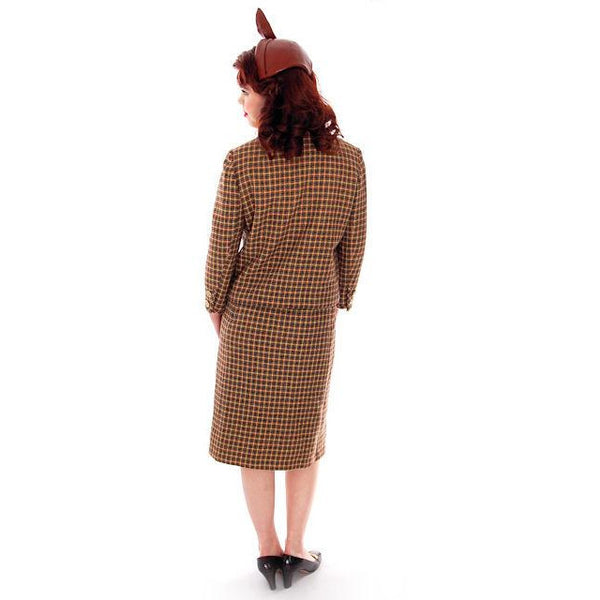 Vintage Davidow Womens Suit  Chanel Style 1960s Wool 38-24-27 - The Best Vintage Clothing  - 3