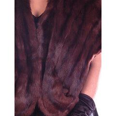 Vintage Fur  Stole Beautiful Brown Squirrel Valles Furs 1950S Glamour - The Best Vintage Clothing  - 3