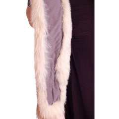 Vintage White Fox Fur Scarf Very Long 1950s - The Best Vintage Clothing  - 4