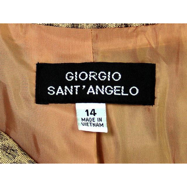 Vintage Giorgio Sant Angelo Suit NEW w Tags 1990s Size 14 - The Best Vintage Clothing  - 6