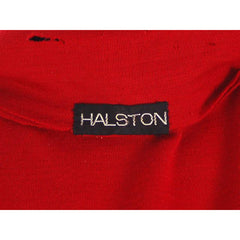 Vintage Halston Wrap Color Block Knit Dress For Design 1980s - The Best Vintage Clothing  - 9