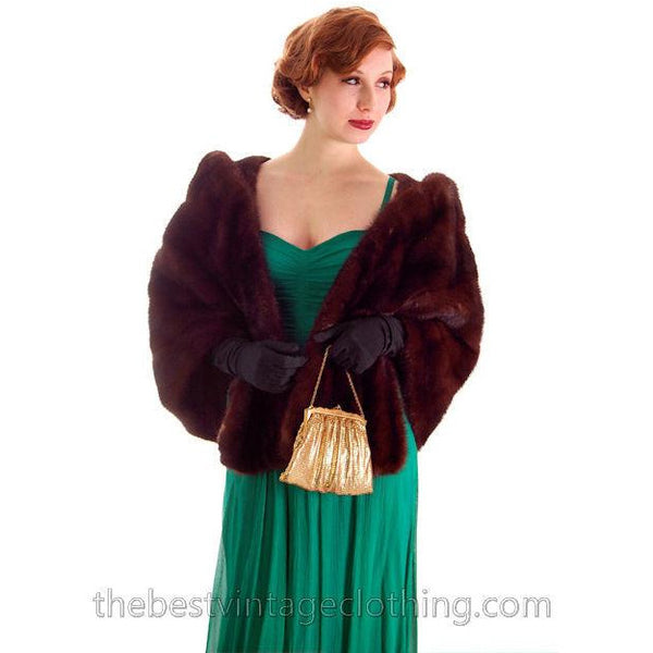 Modern Vera Wang Gown Green Silk Chiffon 1940s Look Size 2 or 4 - The Best Vintage Clothing  - 9