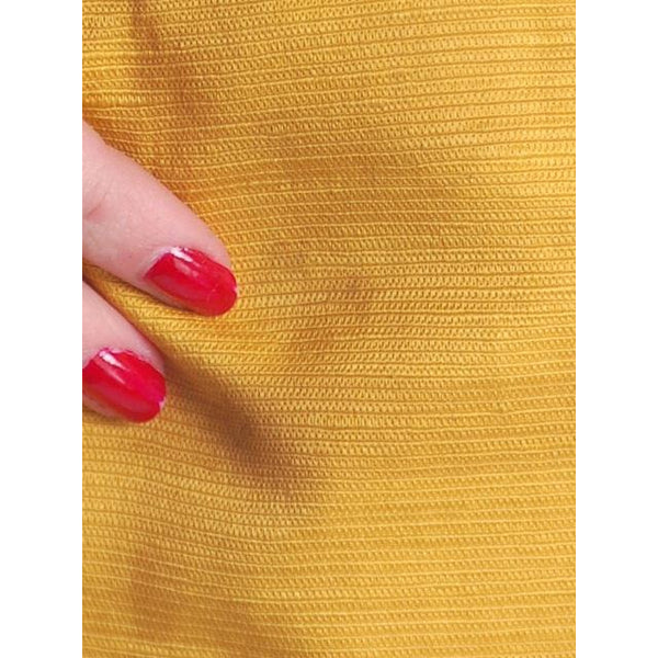 Vintage Tina Leser Yellow Silk Bermuda Shorts 1950S Small - The Best Vintage Clothing  - 5
