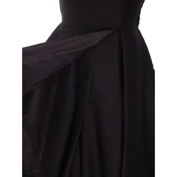 Vintage James Galanos Cocktail Dress Black Full Skirt Late 1950s 38-31-Free - The Best Vintage Clothing  - 6