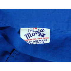 Vintage Gym Suit Royal Blue Cotton 1960s  36-26-40 - The Best Vintage Clothing  - 4