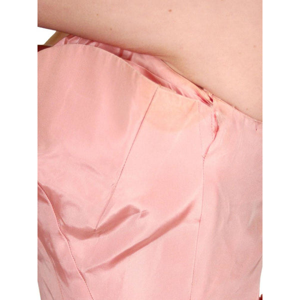 Vintage Pink Taffeta Evening Gown Mollie Stone 1950S 36-28-Free - The Best Vintage Clothing  - 6