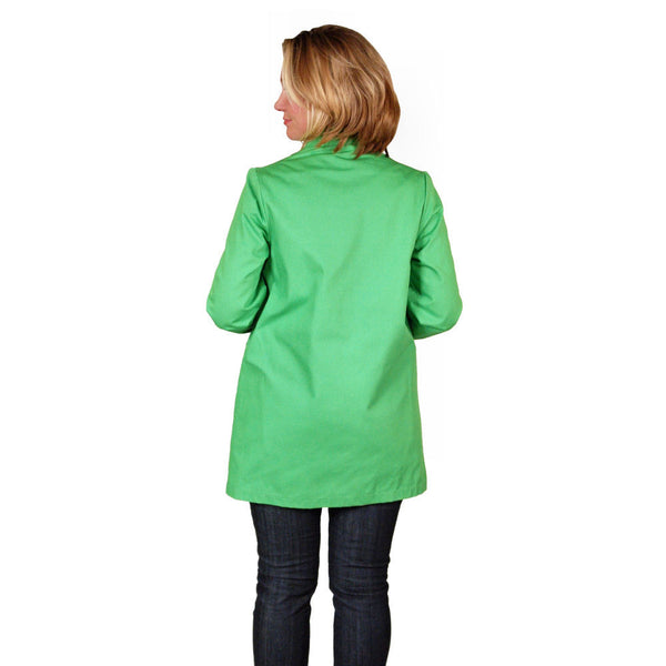 "Vintage Womens Coat Lime/Natural Reversible 1960'S 40"" Bust - The Best Vintage Clothing  - 4"
