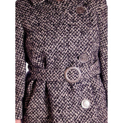 Vintage Black & White Mohair Tweed Suit 1960's - The Best Vintage Clothing  - 5