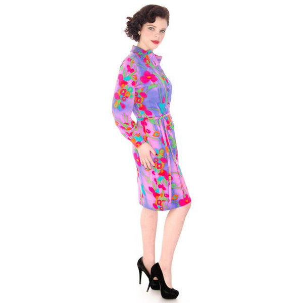 Vintage Shirt Dress Vivid Colors 1970'S Anika  38-42 Bust - The Best Vintage Clothing  - 4
