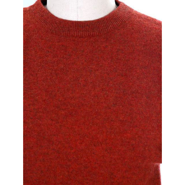Vintage Sweater Cashmere 2ply Lord &Taylor Rust Color M 1980s - The Best Vintage Clothing  - 4