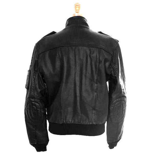 Vintage Hein Gericke Leather Mens German  Motorcycle Jacket 1980S Size 42