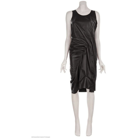 Junya Watanabe Brown Leather Dress SOLD OUT ONE SIZE AW 2011