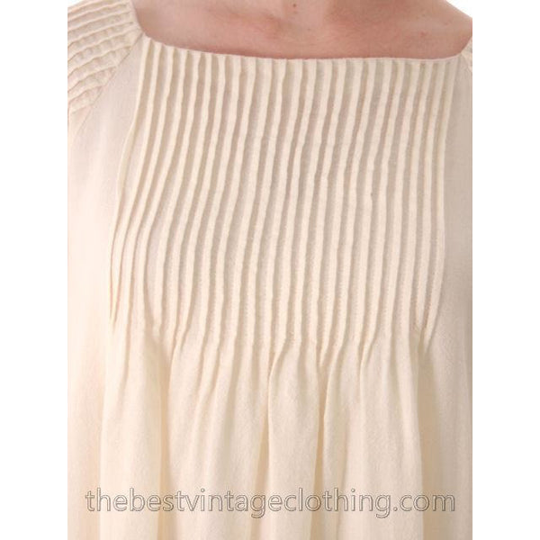 Vintage Marimekko Ivory Wool Maxi Gown Wedding? 1970s  Xsmall - The Best Vintage Clothing  - 9