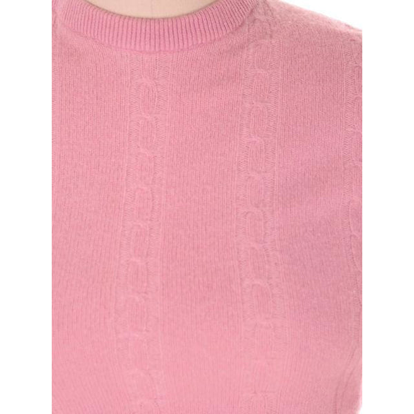Vintage Womens Pink Cashmere Sweater Suit 1950s - The Best Vintage Clothing  - 4