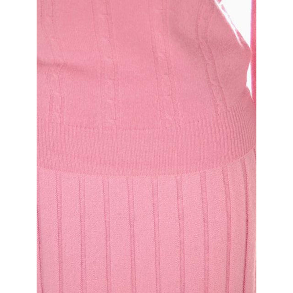 Vintage Womens Pink Cashmere Sweater Suit 1950s - The Best Vintage Clothing  - 5