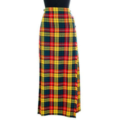 Vintage Ladies Scottish Maxi Skirt Made In Scotland Laird-Portch Small - The Best Vintage Clothing  - 2