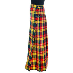 Vintage Ladies Scottish Maxi Skirt Made In Scotland Laird-Portch Small - The Best Vintage Clothing  - 3