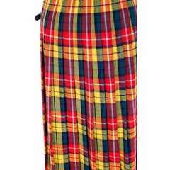 Vintage Ladies Scottish Maxi Skirt Made In Scotland Laird-Portch Small - The Best Vintage Clothing  - 6