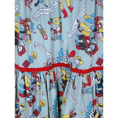 Vintage Cotton Skirt Square Dance Print 1940s Colorful & Fun! Small - The Best Vintage Clothing  - 3