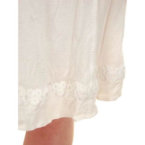 Authentic Louis Vuitton Paris White Cotton Short Skirt Size 36 Small - The Best Vintage Clothing  - 7