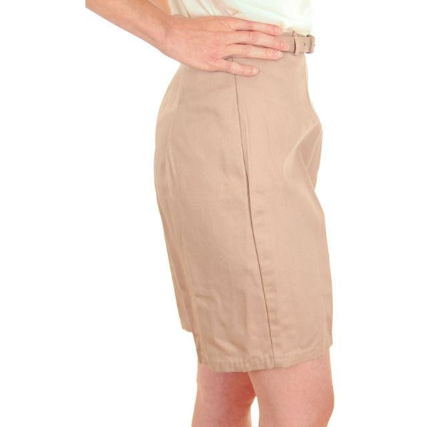 Vintage  Shorts 1960s Never Worn Beige Dan River Small - The Best Vintage Clothing  - 2