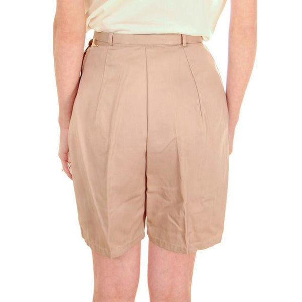 Vintage  Shorts 1960s Never Worn Beige Dan River Small - The Best Vintage Clothing  - 3