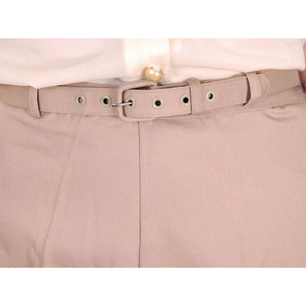 Vintage  Shorts 1960s Never Worn Beige Dan River Small - The Best Vintage Clothing  - 4
