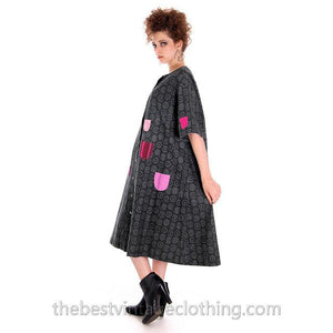 Vintage Marimekko Original Iconic Takki Dress 1960s M Kihlatasku - The Best Vintage Clothing  - 1