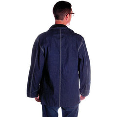 Vintage Sears Denim Work & Leisure Barn Coat Never Worn Medium - The Best Vintage Clothing  - 3