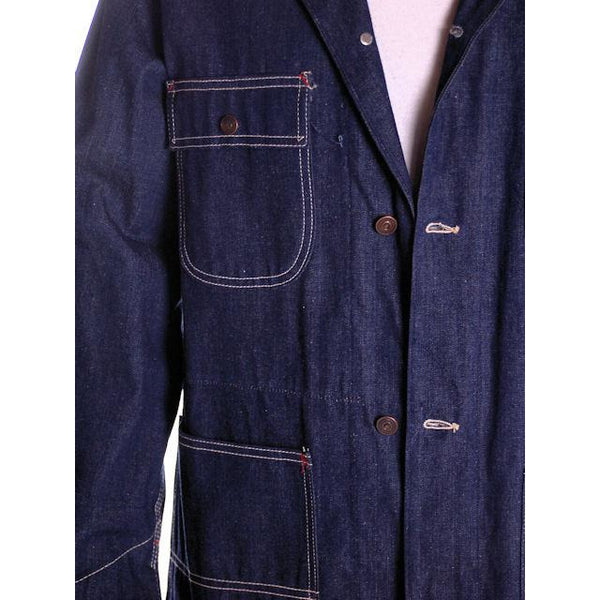 Vintage Sears Denim Work & Leisure Barn Coat Never Worn Medium - The Best Vintage Clothing  - 4