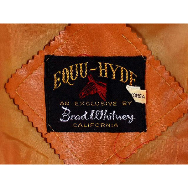 Mens Vintage Ultra 1970s Jacket Faux Leather Brad Whitney Equu-Hyde  Size 38 - The Best Vintage Clothing  - 6