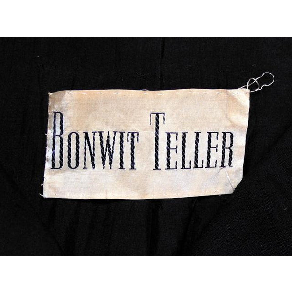 Vintage Coat Unusual Short Sleeves Bonwit Teller 1950s - The Best Vintage Clothing  - 5