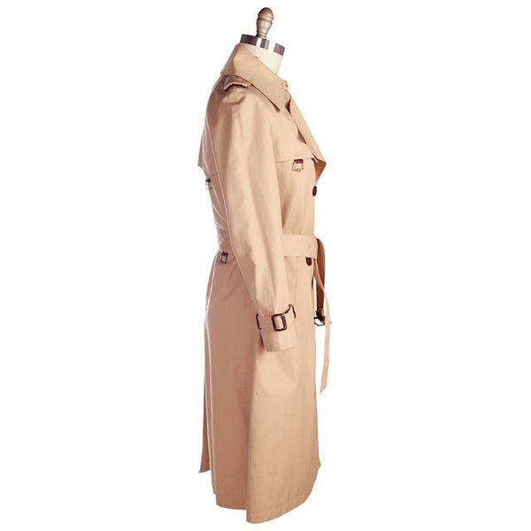 Vintage Etienne Aigner Trench Coat 1970s Size 38 Bust - The Best Vintage Clothing  - 2