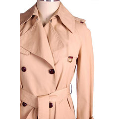 Vintage Etienne Aigner Trench Coat 1970s Size 38 Bust - The Best Vintage Clothing  - 4
