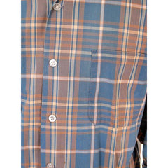 Vintage Mens Shadow Plaid Shirt 100% Cotton Pennleigh 1950s Med - The Best Vintage Clothing  - 5